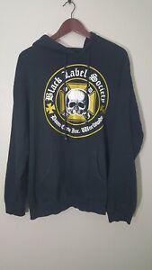 Vintage 2006 BLACK LABEL SOCIETY HOODIE SWEATSHIRT Size Medium - Heavy Metal