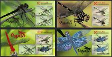 2017 Dragonflies Embossed Minisheet Set China Expo MUH Mint Stamps Australia
