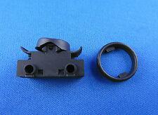 Einbau Wippenschalter für Lampe Wippschalter 6A 250V~ Schwarz