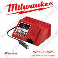 Milwaukee 48-59-0186 One Hour NiCd DC Charger New W/ FACTORY WARRANTY!