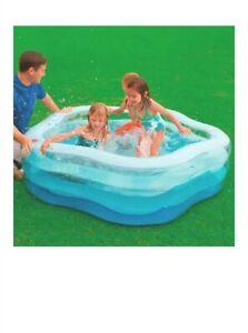 Intex Summer Colors Familien Pool Fun 185x180x53 Planschbecken Badespass Kinder