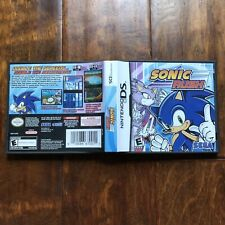 Sonic Rush (Nintendo DS, 2005) No game. Case only