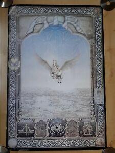 Athena Original - VINTAGE 'AIR' AQUARIUS POSTER FROM 1980'S