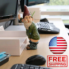 Fairy Garden Gnomes Naughty Funny Nude Gnome Miniature Statue Christmas Gift NEW