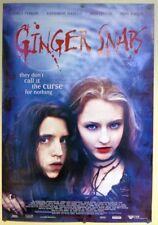 Ginger Snaps  - original movie poster  -  27x40 Canadian, rare original release