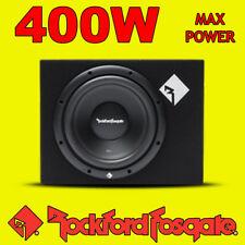 "Rockford Fosgate 12"" pollici 400w CAR AUDIO PRIME SUBWOOFER SUB WOOFER BASS BOX NUOVO"