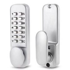 Push Button Mechanical Digital Combination Code Door Lock Keyless Access Pad