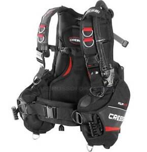 Gav CRESSI SUB Aquaride Jacket With Pockets Port Weights Dive Bcd Vest