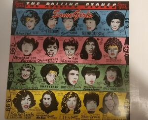 The Rolling Stones - Some Girls LP 1978 UK Vinyl with Inner and words
