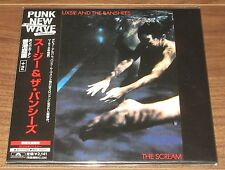 SIOUXSIE AND THE BANSHEES Japan PROMO issue card sleeve CD more listed SCREAM