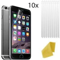 10 X Apple iPhone 5 5s SE Clear Plastic Screen Guard LCD Protector Film 3 layers