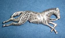 Juhls Norwegen Sehr Schöne Vintage Designer Brosche Aus 925 Silber 100% Original Antikschmuck