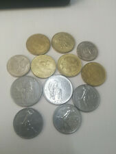 12 Italian coins lot. Circulation and Commerative. Different types and years!