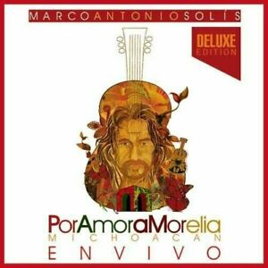 CD + DVD SET MARCO ANTONIO SOLIS POR AMOR A MORELIA MICHOACAN DELUXE NEW SEALED