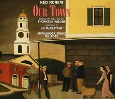 Soloists Gil Rose Monadnock Music - Ned Rorem Our Town [CD]