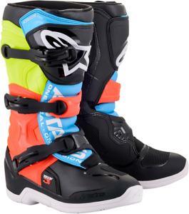 Alpinestars Tech 3S Kids/Youth MX Motocross Offroad Boots