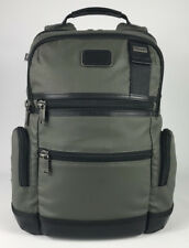 Tumi Alpha Bravo Knox Expandable Casual Business Laptop Backpack Green 222681