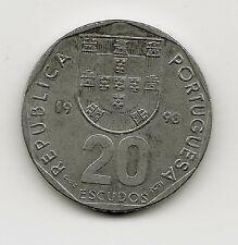World Coins - Portugal 20 Escudos 1998 Coin KM# 634