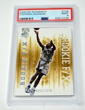 STEPHEN JACKSON 2000-01 UPPER DECK SP AUTHENTIC ROOKIE F/X #128 PSA 9 MINT /1250