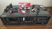 JVC TD-W30 Double Cassette Deck Tape Player Recorder Excellent Condition WORKS