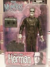 THE MUNSTERS ACTION FIGURES  BY DIAMOND SELECT - HERMAN MUNSTER (B&W)
