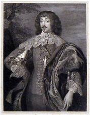 William Villiers, VISCONTE grandison 1815 VAN DYCK-Charles Picart Incisione