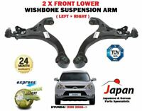 FOR HYUNDAI IX55 4WD 2008->NEW 2X LOWER LEFT + RIGHT WISHBONE SUSPENSION ARM SET