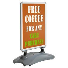 Outdoor A1 Snap A Frame Poster Stand Double Sided