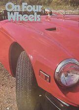 On Four Wheels Magazine Issue 120 featuring BMW cutaway drawing, TVR, Trojan