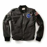 NASA Flight Jacke, Herren Jacke, Original, Große: Large