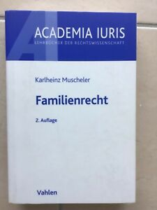 Familienrecht Muscheler 2. Auflage