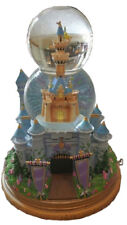 Disney TINKERBELL CASTLE Double SnowGlobe (Cinderella's Castle) - MINT! RARE!!!