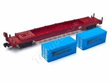 T Gauge Blue Container Wagon Set 04620-B