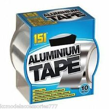 Aluminium Tape Strong Adhesive Heat Proof Exhaust Pipes Vent Ducts 48mm x 10Mt