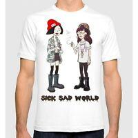 Daria MTV T-shirt, Sick Sad World Men's Women's Tee, All Sizes