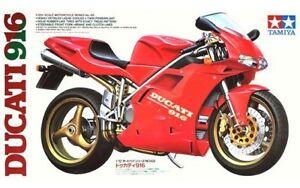 Tamiya 14068 1/12 Scale Motorcycle Series Model Kit Ducati 916