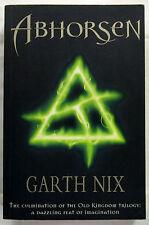 Abhorsen Old Kingdom Trilogy Bk 3 Garth Nix 1st Ed SC 2003 Aust Author Fantasy