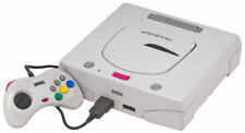 Sega Saturn Launch Edition White Console