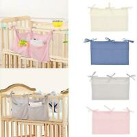 Baby Crib Organizer Bed Hanging Storage Bag For Baby Decor Diaper A2Z2 L0W4