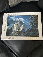 jigsaw puzzle, 1000 pieces. Clemontoni - Neuschwanstein Castle