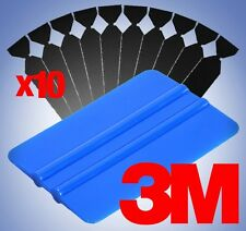 3M Blue Squeegee Applicator Tool Replaceable Felt Edge Tips x10 Vinyl Wrap Kit