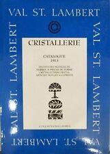 CATALOGUE/LIVRE/KATALOOG/BOEK VAL SAINT LAMBERT ( ST VSL) 1913 & 1924 (LUXVAL)