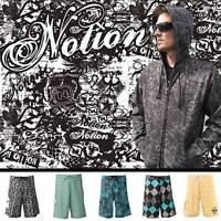 NEW Mens Notion Clothing Boardshorts Uncle Buck Surf Swim trunks Size: 20-42