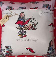 "Roald Dahl's ""Matilda"" Cushion Cover (Quentin Blake illustration)"