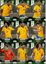 2014 Brasil FIFA World Cup Soccer Prism Card Base Team Set Croatia (5)