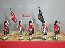 Britains 40189 Cameron HIGHLANDERS party a colori + ESCORT giocattolo Soldato Figure Set