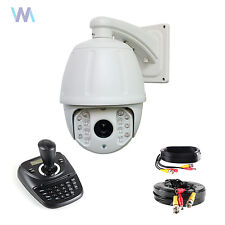 18x CCTV Security HD 2.0MP 4 IN 1 IR PTZ Camera 1080P + PTZ Keyboard Controller