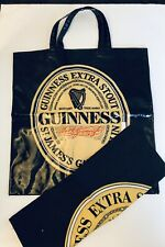 Guinness Beer Ale Brewery Vinyl Bag Tote Bar Towel Ireland St James Gate Dublin