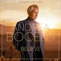 Andrea Bocelli ‎- Believe (Deluxe CD) 17 tracks Brand New & Sealed