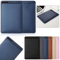"Leather Sleeve Case Cover Pouch For Apple Pencil & iPad 9.7 2018 Pro 10.5"" 12.9"""
